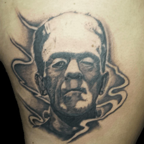 Black and Grey Tattoos | Pistol Pete's Tattoo Shop in Amarillo